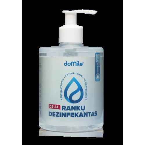 Rankų dezinfekantas su dozatoriumi pagal PSO1F, 500 ml DOMILE