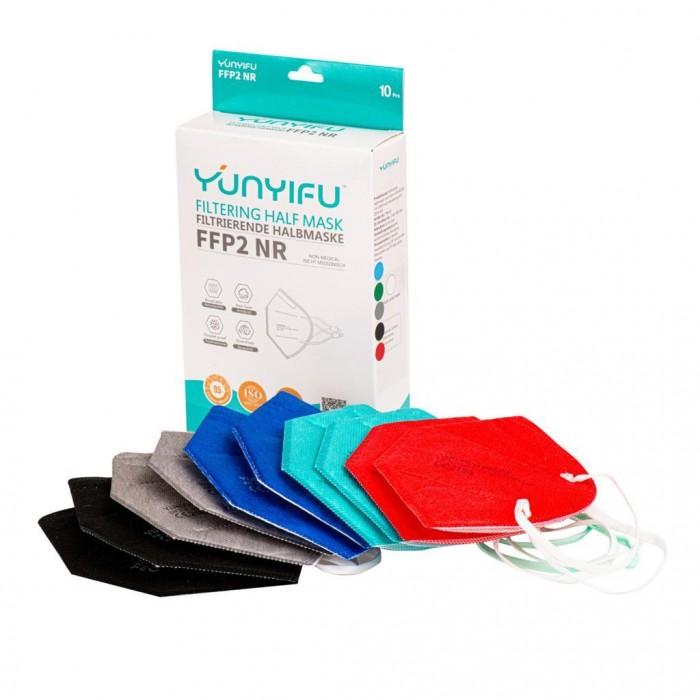 Respiratorius FFP2 x 10 vnt. (MIX M color)