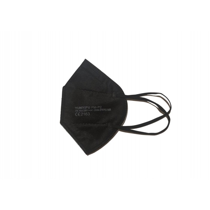 Respiratorius FFP2 x 5 vnt. (juodos spalvos)
