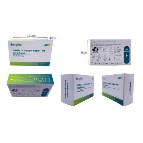 Greitasis COVID-19 antigeno tyrimas (iš burnos išskyrų)