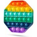 Antistresinis silikoninis žaislas Pop-it (aštuonkampis)