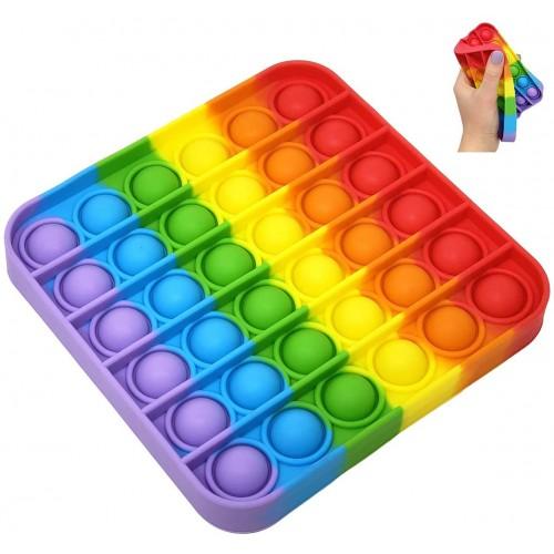 Antistresinis silikoninis žaislas Pop-it  (kvadratas R)
