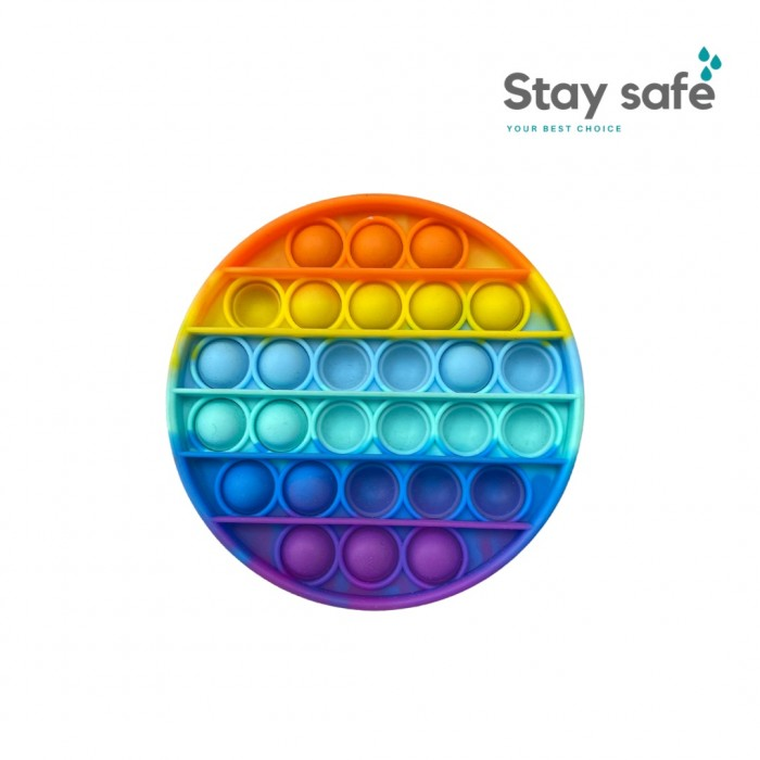 Antistresinis silikoninis žaislas Pop-it