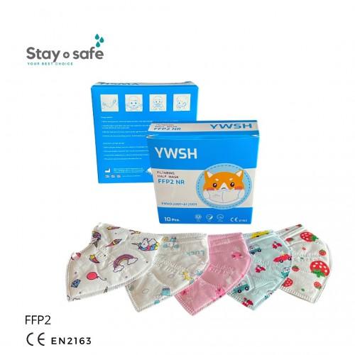 Vaikiškas respiratorius FFP2 (su paveiksliukais)